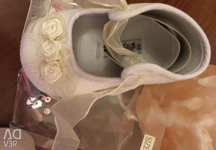 Пинетки новые с биркой и упаковкой