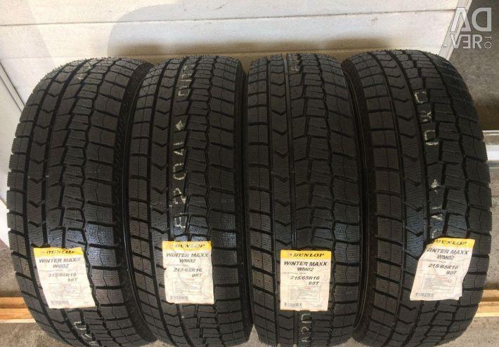 Winter tires R16 215 65 Dunlop