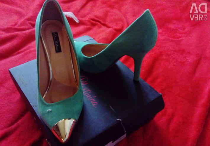 New suede shoes Cyrus Plastinina