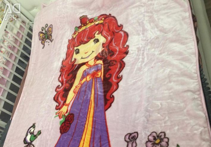 Pătură de pat pentru copii 160/225