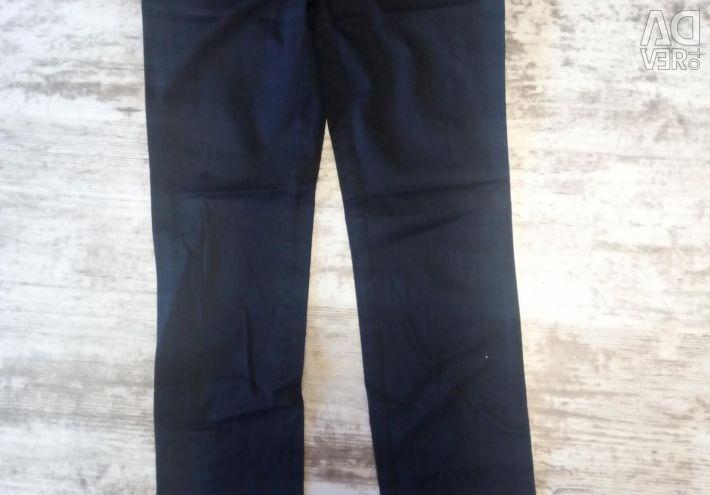 Pants Mango. 2 pairs beige and black