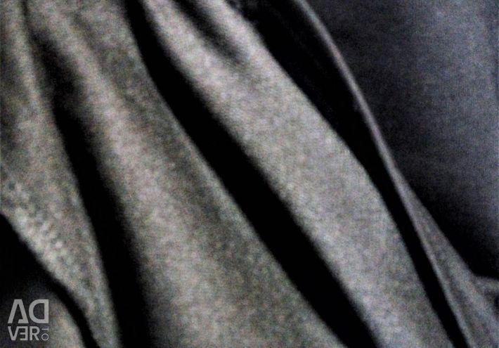 Костюм с брюками на запАх футер 52/54/56
