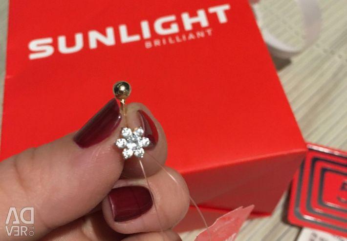 Gold Piercing Sunlight