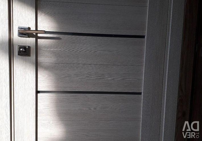 The door is new!