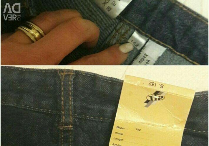 Новые джинсы TIP на рост 152