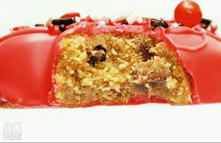 Low-calorie desserts PP.