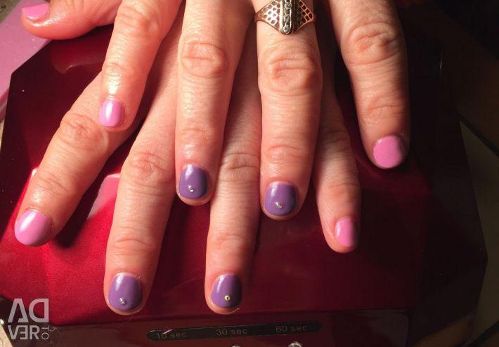Manicure shellac