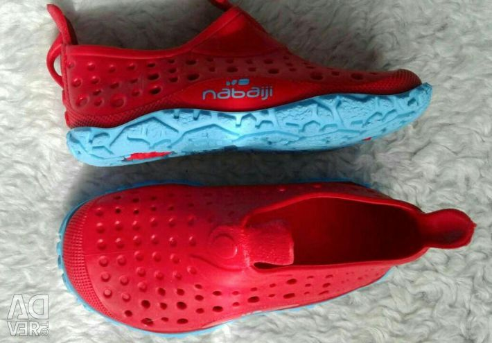 Резиновая обувь для купания 21р