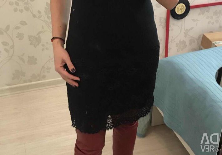 New Knitted Lace Dress 44/46 Italy