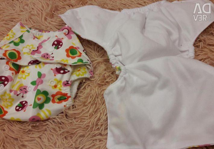 Diapers reusable