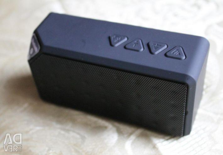 Ομιλητής X3 Bluetooth FM USB TF μαύρο