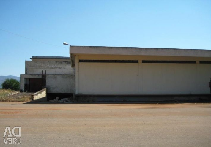 Industrial building, with a surface of 27.146 sq.m