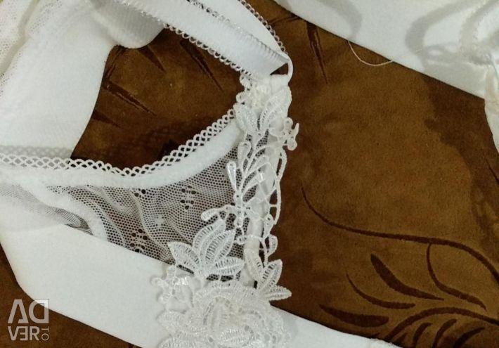 Guipure underwear