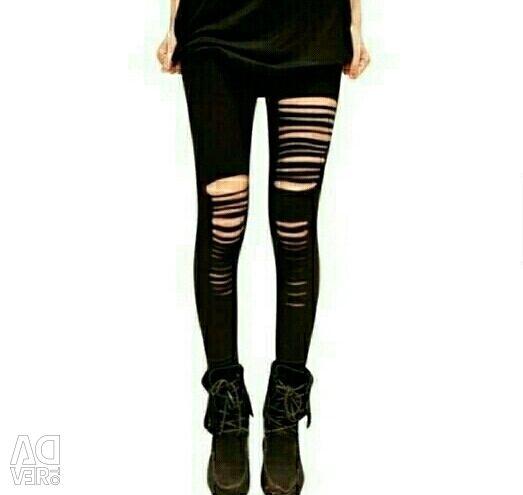 Picioare legate tricotate
