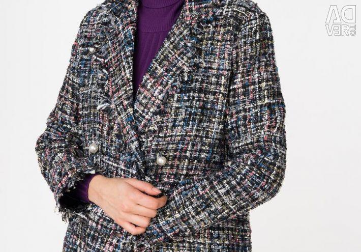 Coat with fringe Insity. New!