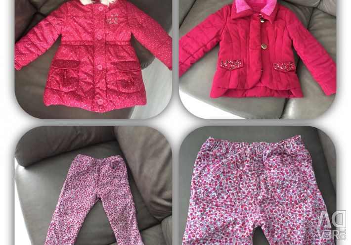 Branded jackets for a girl for the spring