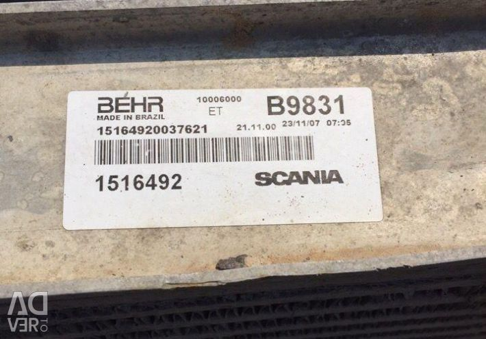 Intercooler Scania 4 - series Scania 1516492