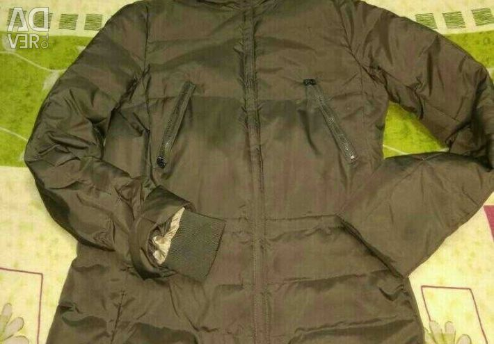 Down jacket with natural fur firm zolla size 4