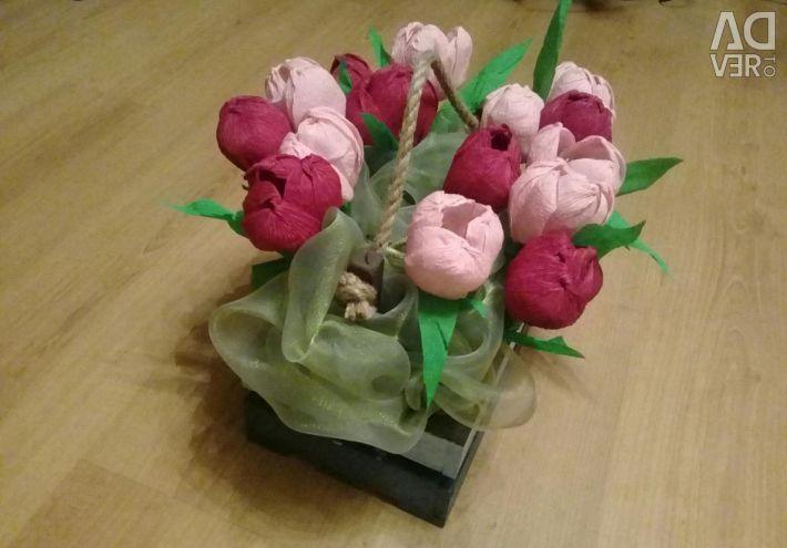 Bouquet of chocolates