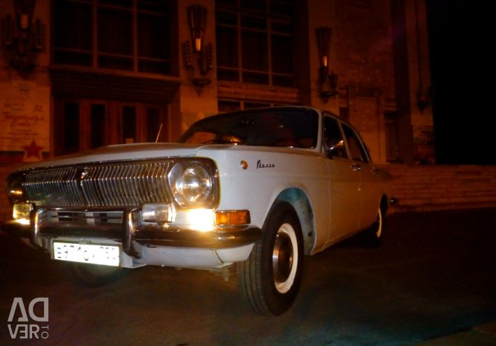 Rent, hire a retro car, Volga, Gas 24