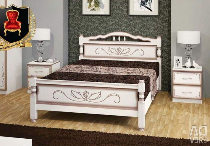 Деревянные кровати по доступной цене в Крыму.