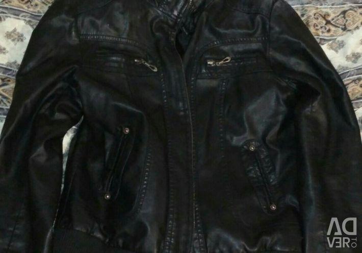 Куртка шкіряна унісекс 2xl