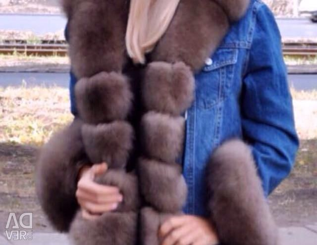 Yeni serin ceket kürk kot