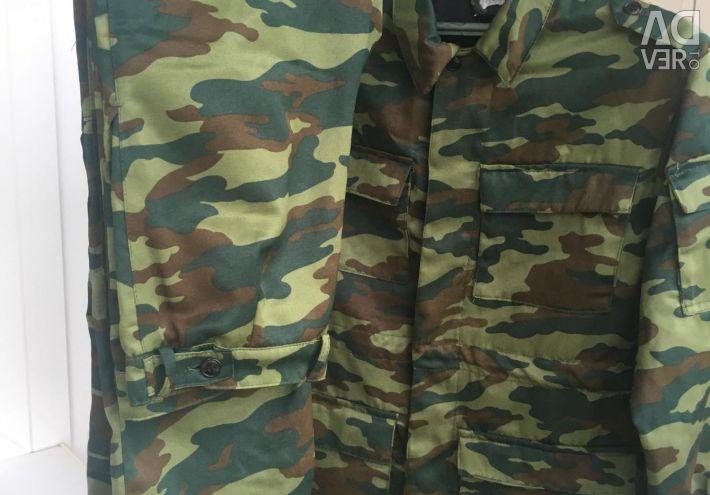 Полевая камуфляжная форма кадетская