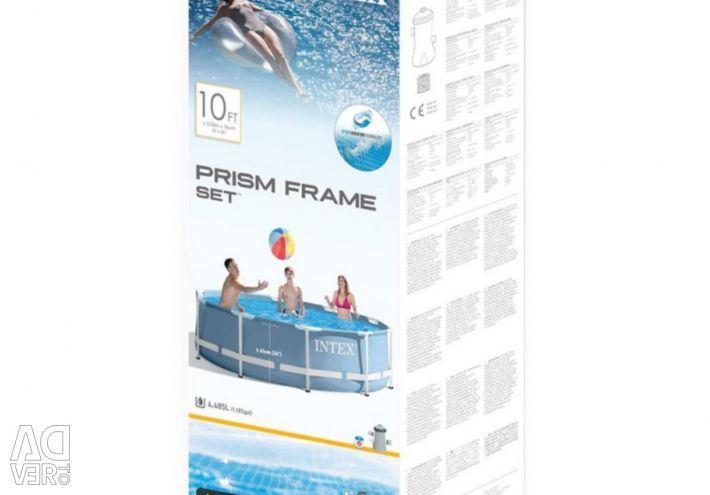 Frame pool Original 305x76cm + Filter 28702