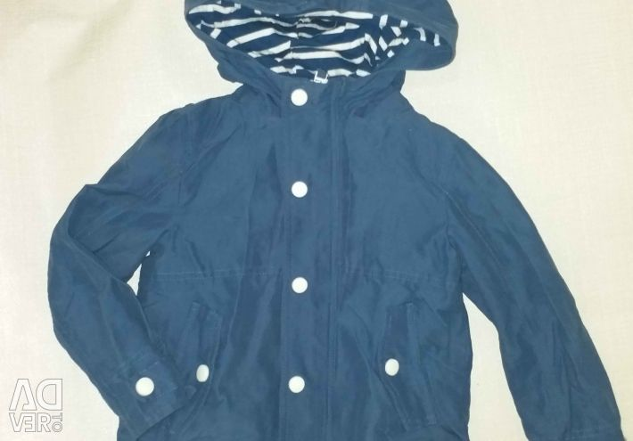 Light jacket / windbreaker / coat for a boy 104
