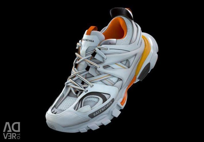 Balenciaga Track 3.0 Orange White