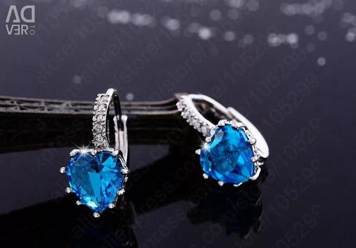 Cercei imitație de bijuterii