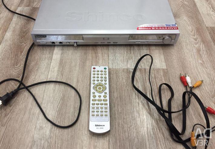 Shinco DVD player (with karaoke)