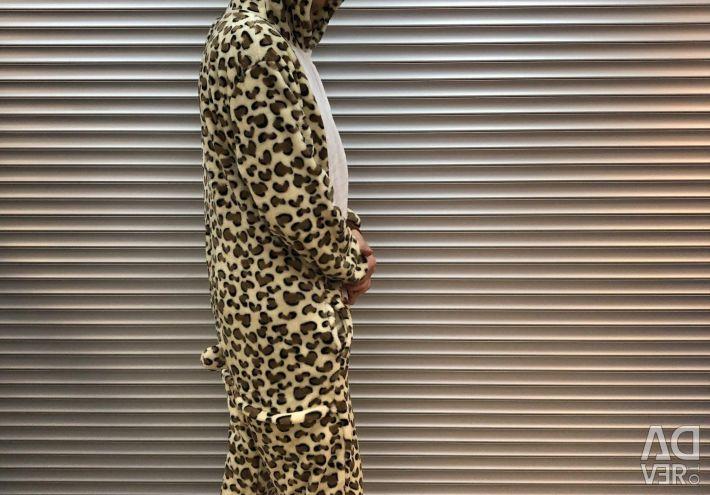 Pajamas M (Kigurumi) Leopard new