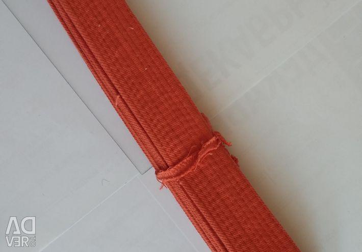Belt orange NEW 2.8 m