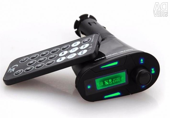 MP3 Player with FM Transmitter