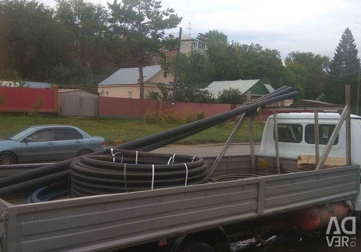 Trucking Gazelle open 6 meters, top side.