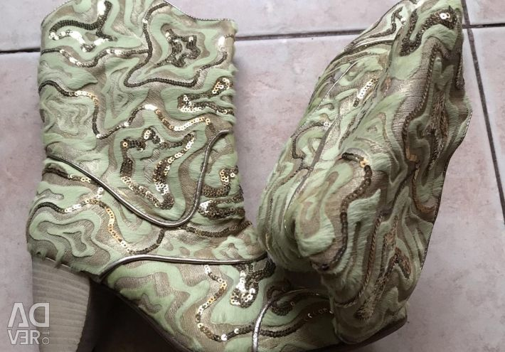 Ankle boots Cossacks