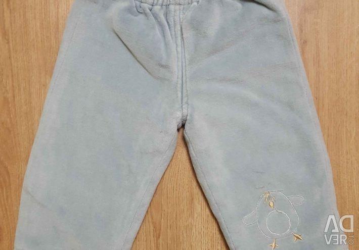 Pantaloni încălziți 74-80