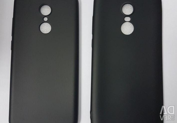 Силіконовий чохол чорний матовий HONOR, XIAOMI.