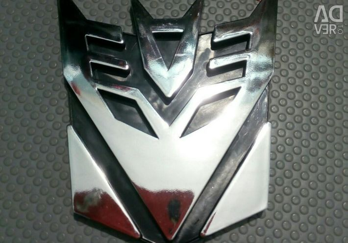3D sticker for the car. Transformers. Sharing !!!