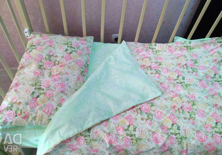 Κρεβάτι από σατέν
