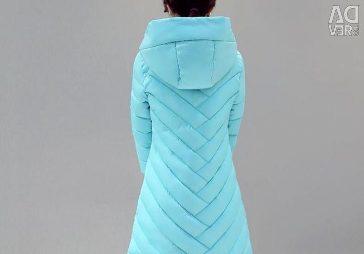 Пальто, куртка на синтепоне, р.44