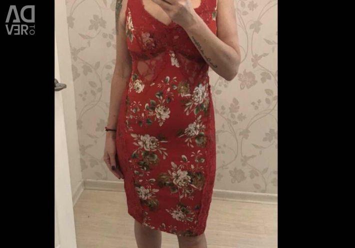 Нове Італійське Сукня для жінок Вамп! 44-46 S /