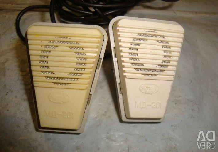 Headphones tds-1 / microphone md-201 USSR