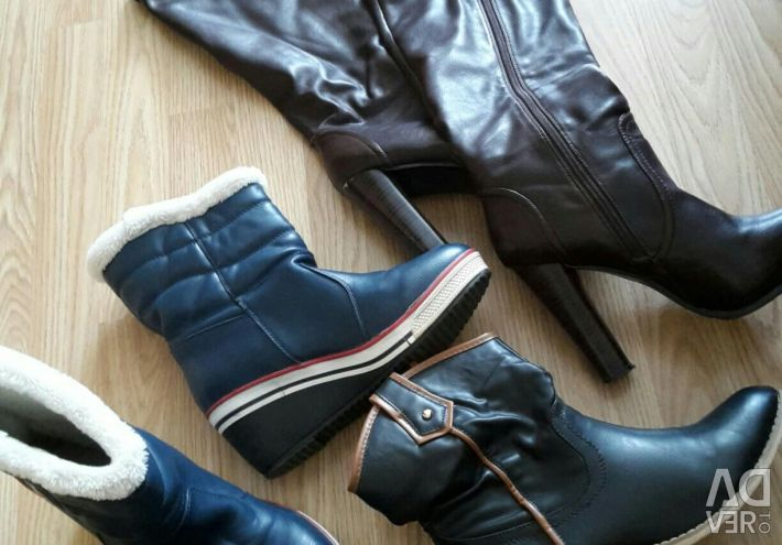 Boots 3 pairs in a package, p.39
