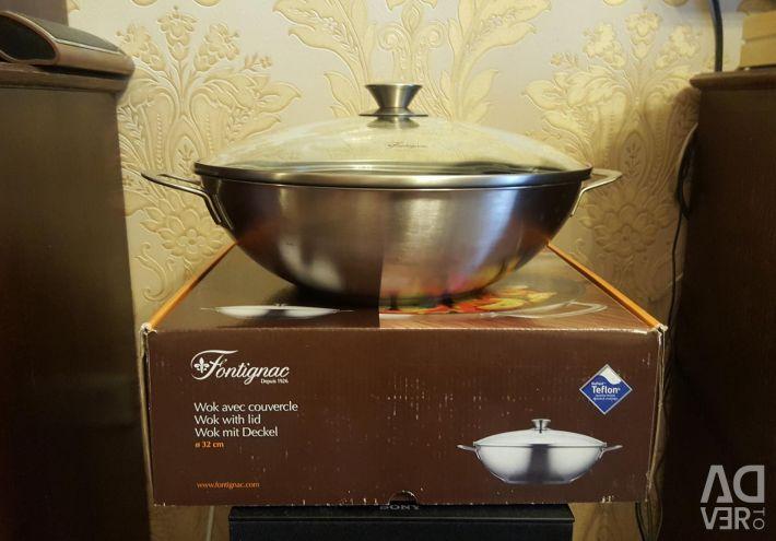 Сковорода - вок Fontignac .