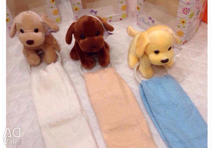 Toy - hanger + towel
