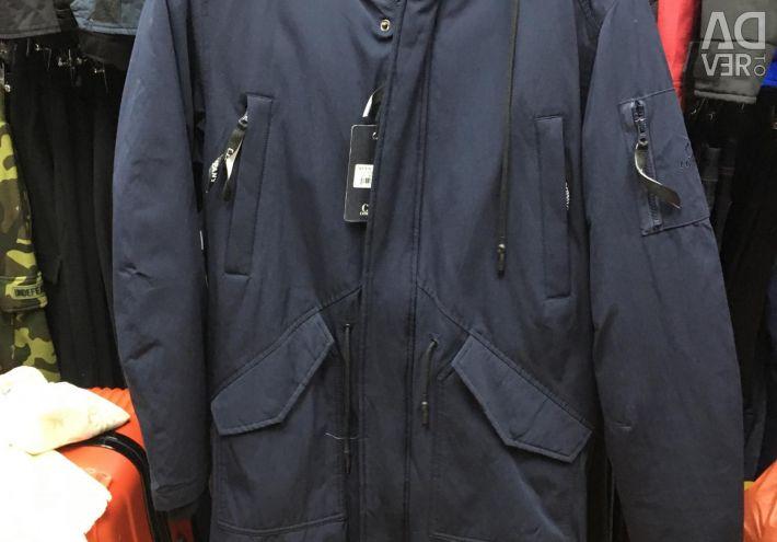 Kışlık Ceket C.P. Şirket mavi