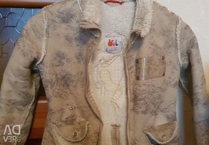 Jacket for a child of 5-6 years